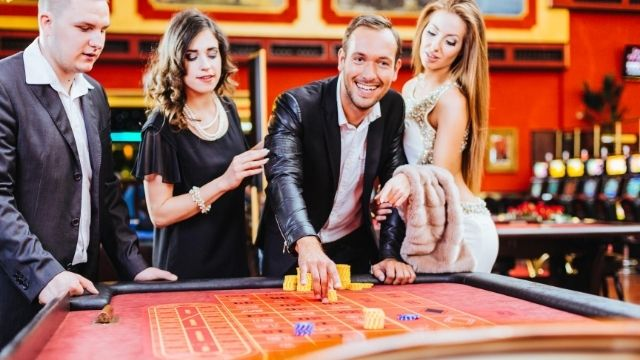 Win in Online Roulette game of chance